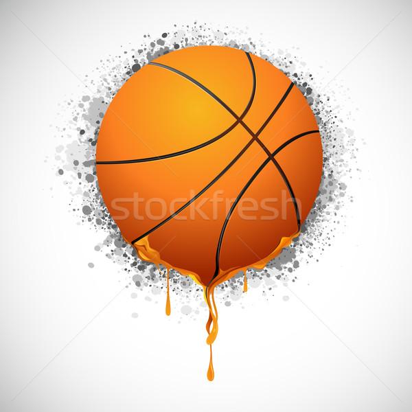 Melting Basketball Stock photo © vectomart