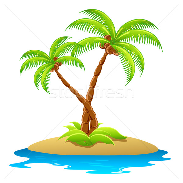 Palm Tree Stock photo © vectomart