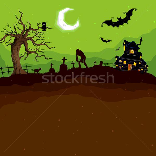 Halloween Night Stock photo © vectomart