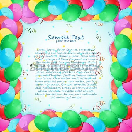 Открытки с воздушными шарами 24
