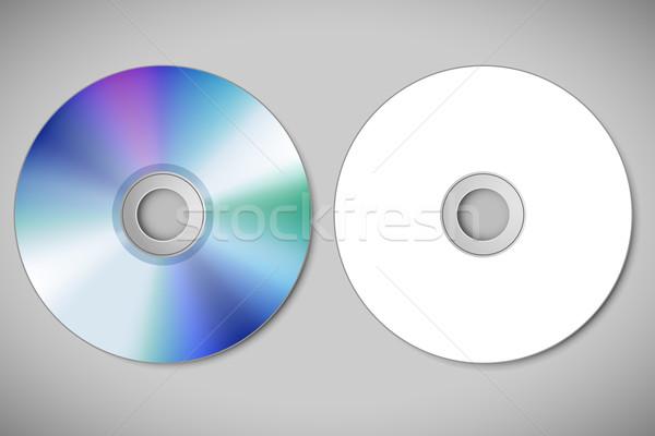 ビデオ cd 実例 抽象的な ソフトウェア デジタル ストックフォト © vectomart