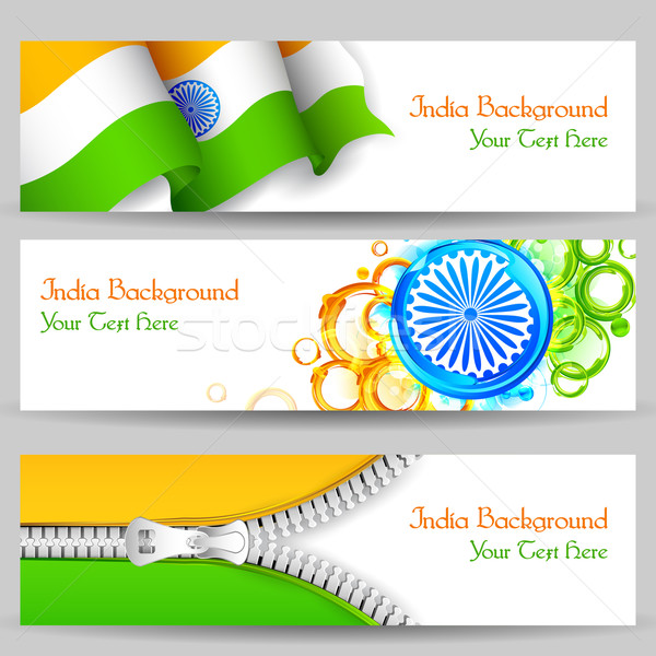 Banner and Header for India Celebration Stock photo © vectomart