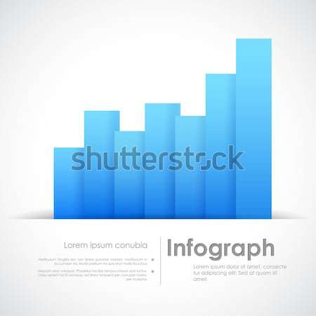 Infograph Business Graph Stock photo © vectomart