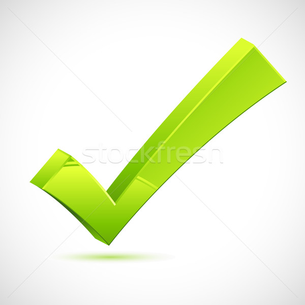 Green Checkmark Stock photo © vectomart