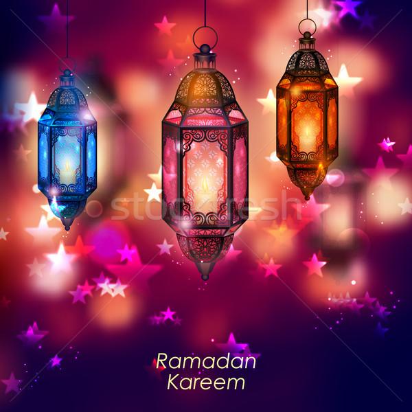 ラマダン 寛大な イスラム 宗教 祭り ストックフォト © vectomart
