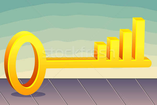 Profit Key Stock photo © vectomart