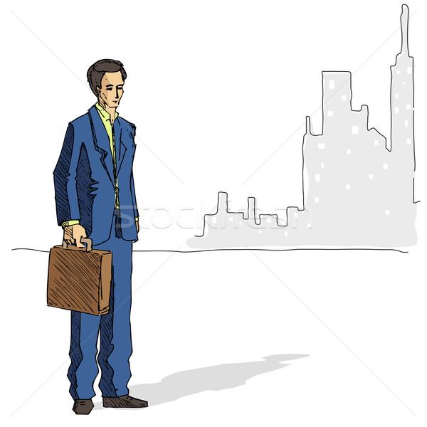 Business Man Stock photo © vectomart