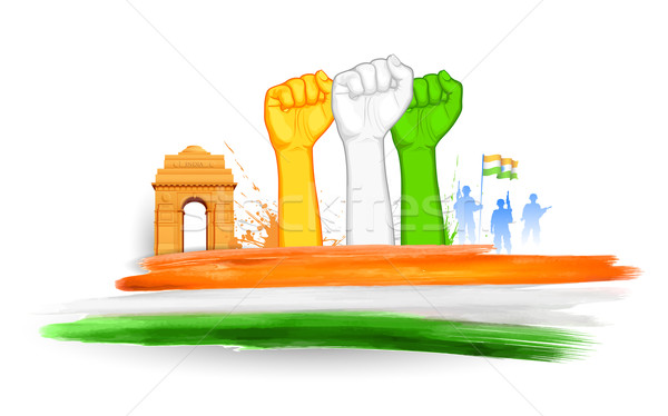 Indian Struggle Stock photo © vectomart