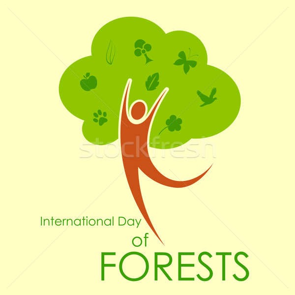 International Day of Forest Stock photo © vectomart