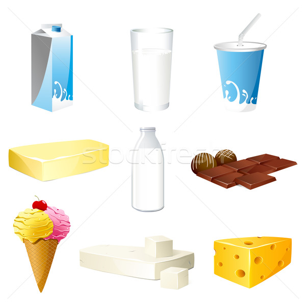 Dairy product Stock photo © vectomart