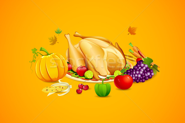 Happy Thanksgiving Stock photo © vectomart