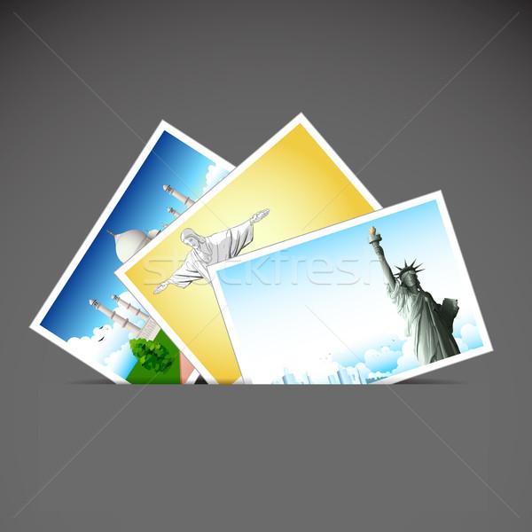 Travel Photo Stock photo © vectomart