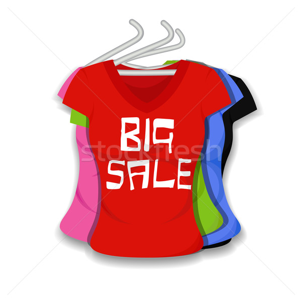 Big Sale on Apparel Stock photo © vectomart