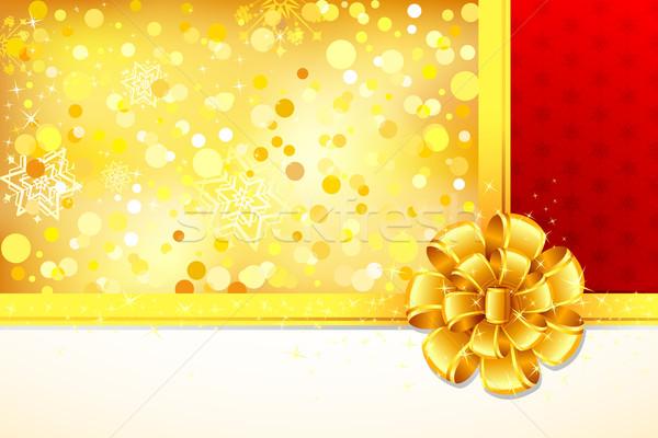 Ribbon on Gift Paper Stock photo © vectomart
