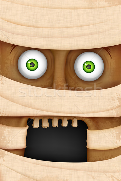Face of Mummy Stock photo © vectomart