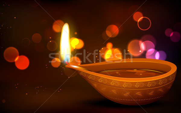 Diwali Holiday background Stock photo © vectomart