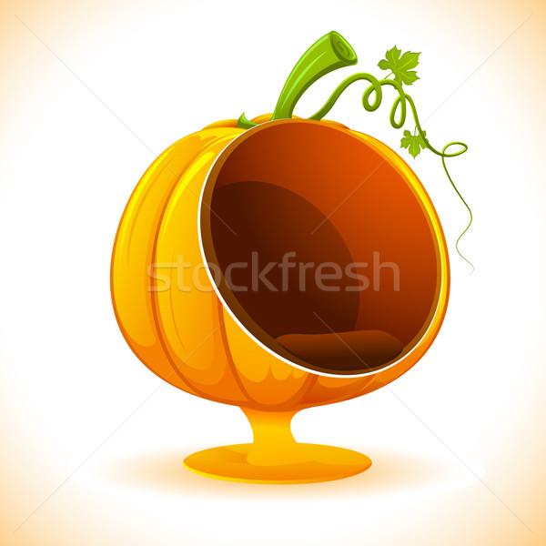 Pumpkin Sofa Stock photo © vectomart