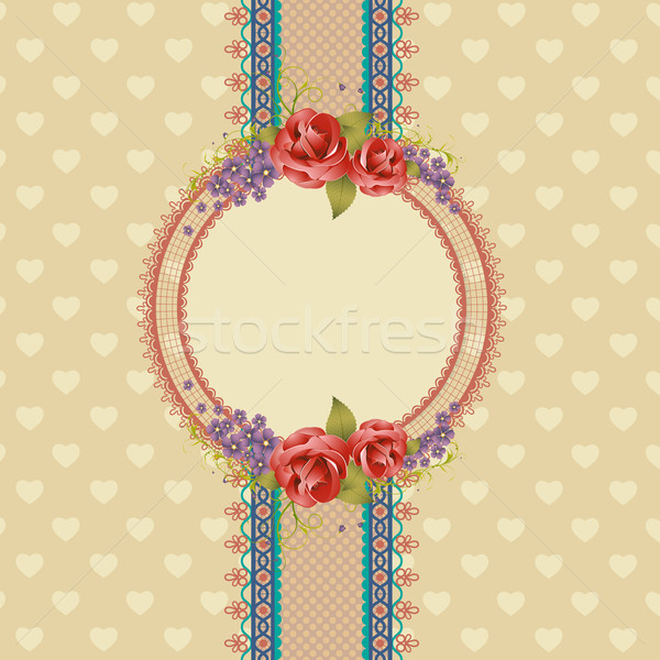 Scrapbook Background Stock photo © vectomart