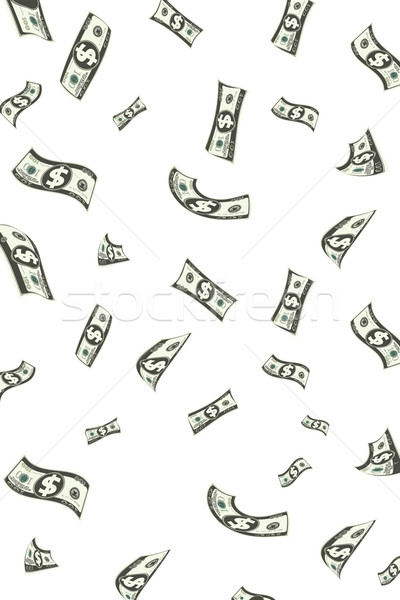 Raining Dollar Stock photo © vectomart