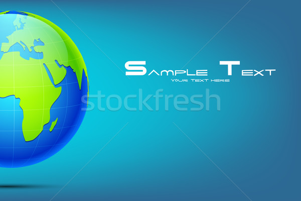 Earth on Abstract Background Stock photo © vectomart