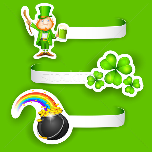 Saint Patrick's Day Label Stock photo © vectomart