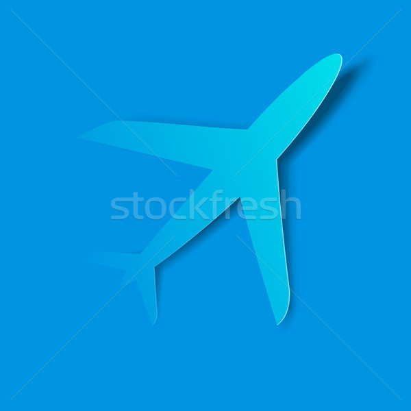 Airplane taking off Stock photo © vectomart