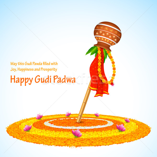Gudi Padwa Stock photo © vectomart