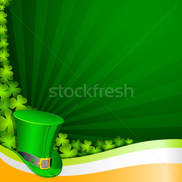 Saint Patrick Stock photo © vectomart