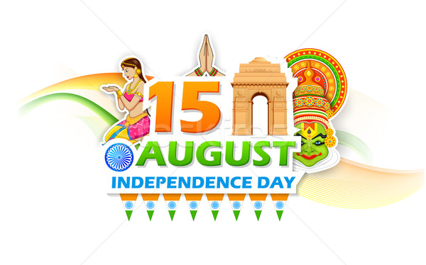 Independence Day of India Stock photo © vectomart