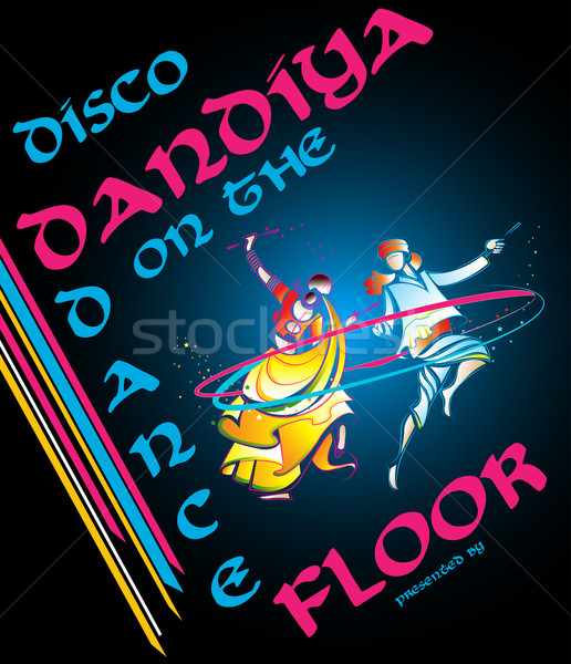 Disco Dandiya Stock photo © vectomart