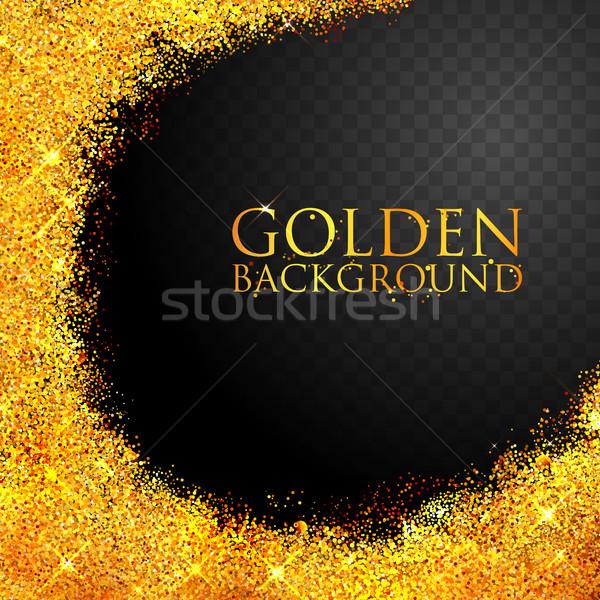 Lucido tessitura oro illustrazione sfondo Foto d'archivio © vectomart