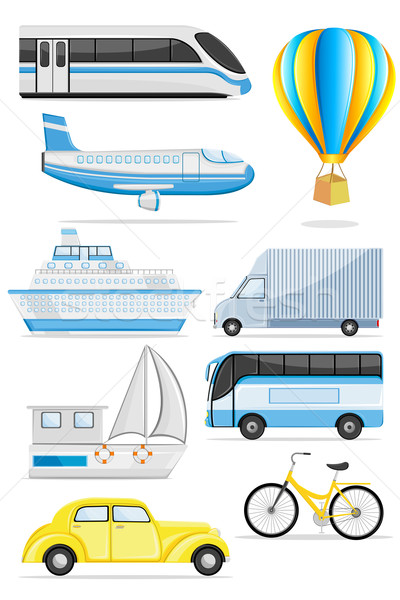 Stock photo: Transportation icon