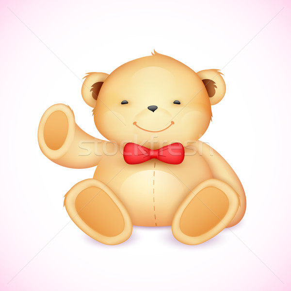 Cute Teddy Bear Stock photo © vectomart