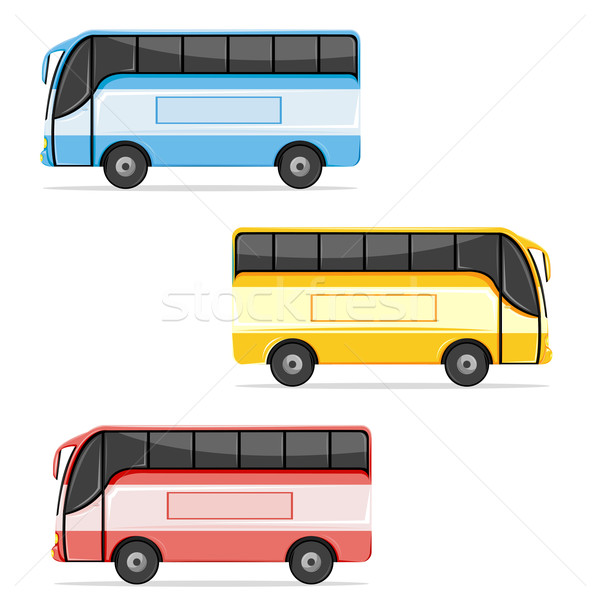 Colorfull Bus Stock photo © vectomart