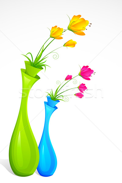 Flower Vase Stock photo © vectomart
