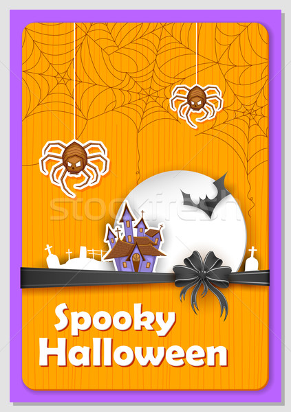 Spooky Halloween Stock photo © vectomart