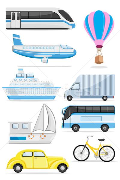 Stock photo: Transportation icon