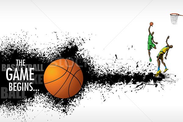 Basketball Match Stock photo © vectomart
