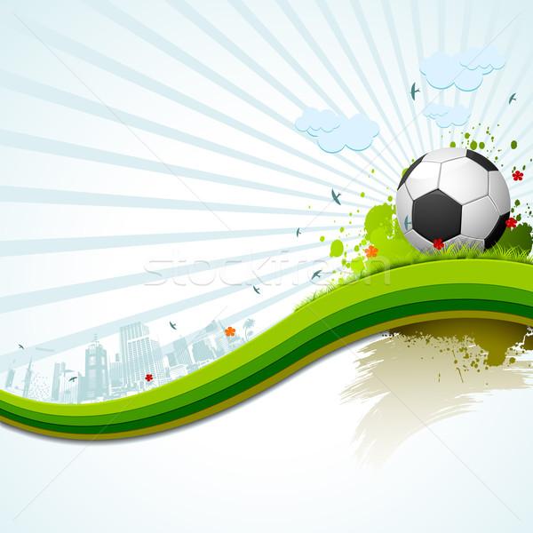 Soccer Ball Stock photo © vectomart