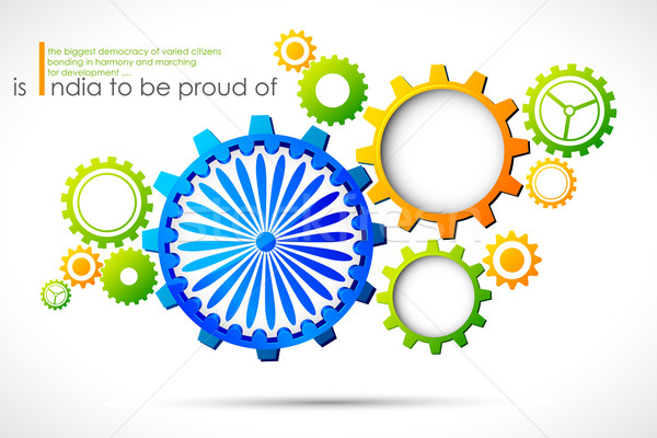 Progressive India Stock photo © vectomart