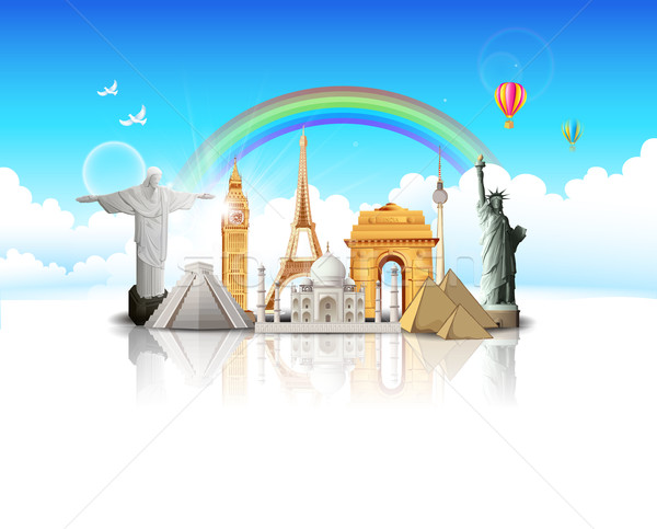 Travel the World Stock photo © vectomart