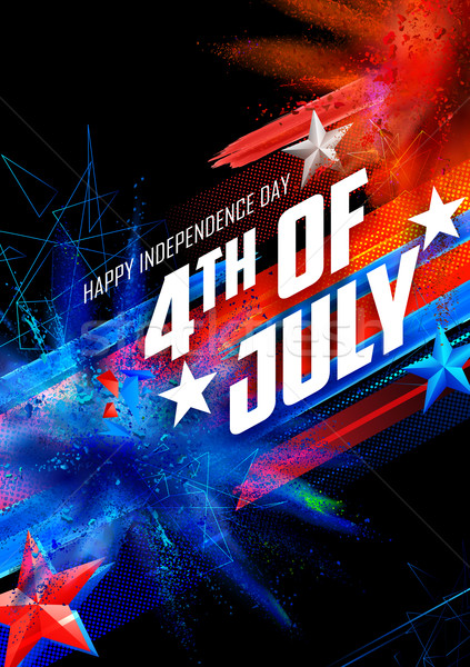 Stock photo: Fourth of July background for Happy Independence Day  America