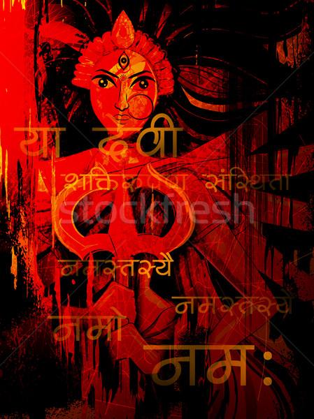 Deusa feliz ilustração significado poder Foto stock © vectomart