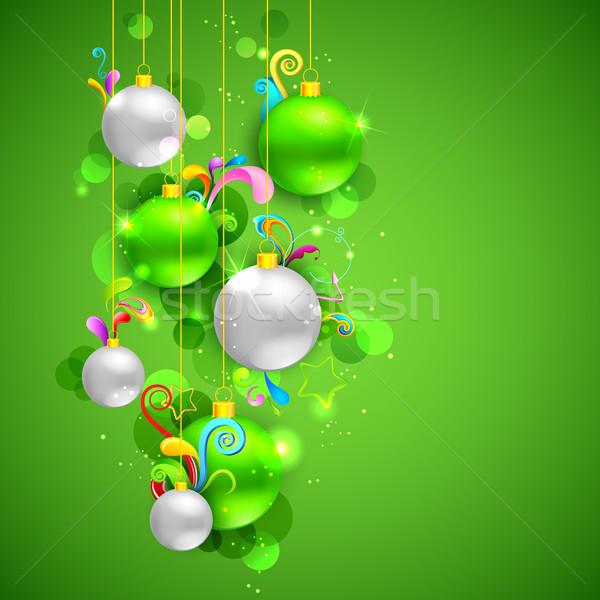 Noel önemsiz şey örnek soyut parti arka plan Stok fotoğraf © vectomart