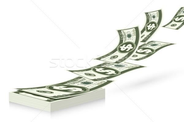 Dollar Bundle Stock photo © vectomart
