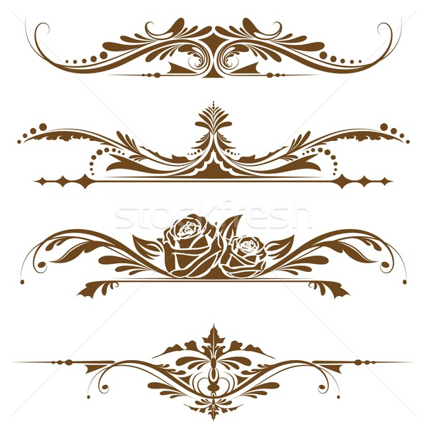 Vintage Page Border Stock photo © vectomart