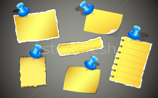 Note Chit Stock photo © vectomart