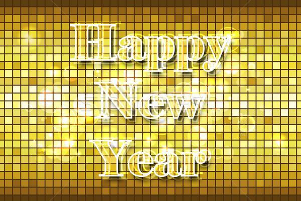 Disco Happy New Year Stock photo © vectomart