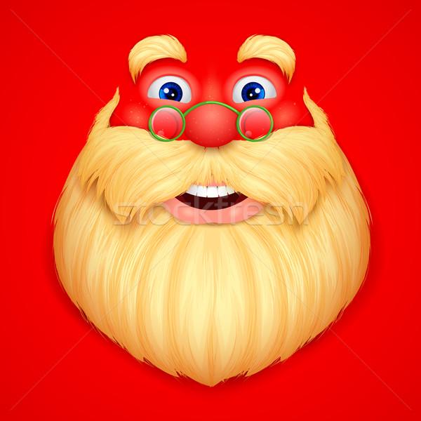 Santa Claus doing ho ho ho Stock photo © vectomart