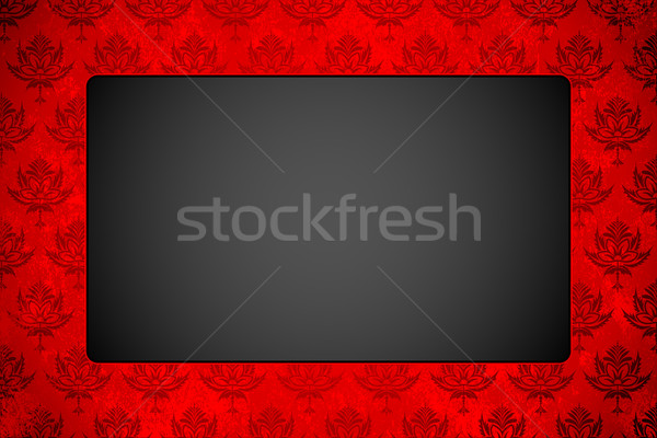 Stock photo: Copy Space in Floral Background